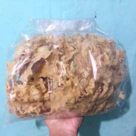Peyek kacang & udang rebon murah