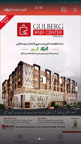 Corner & Brand shop for sale in Ground Level-2 on Investor Rate