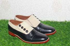 New Handmade button shoes( Made to order )