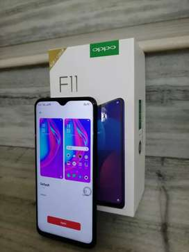 Oppo F11 128 GB , with warranty.Box, Bill, original charger available.