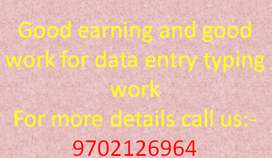 Making money offline & online is easy by data entry