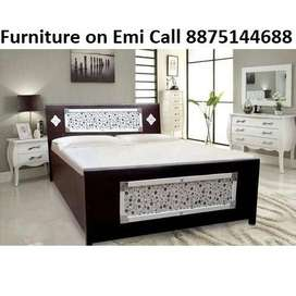 Discount price New Bed Single 1799, Bed Double 3599, Emi available