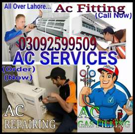 A.c.Service.Fitting.Gas filled