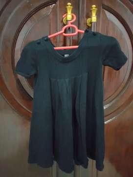Baju  merk Zara kids , ORI , warna hitam