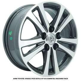 Velg Ertiga APV Innova Luxio AMW Toyota  R16X6.5 hole 5x114.3 ET 45