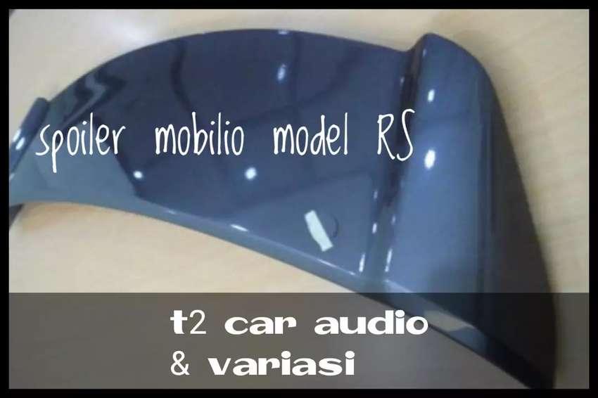 Warna abu metallic SPOILER BELAKANG MOBILIO MODEL RS ready stock mumer 0
