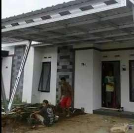 Pasang kanopi rumah minimalis duri
