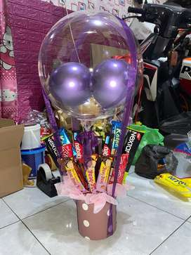 Buket balon Snack