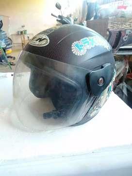 Helm half face buy1get1
