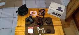 Canon eos m3 full set +aksesoris