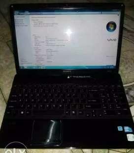 Sony VAIO laptop Core i3 Model PCG - 71311w Price ₹15000/-