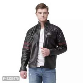 New Men's Stylish Biker Jacket Cash on Delivery Available