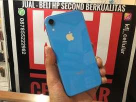 iphone XR 64GB dual sim nano blue kel hp cas