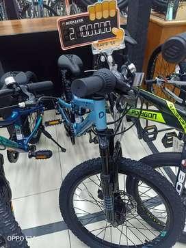 Kredit Sepeda Anak Polygon Rapid 20 Promo bunga 0% Tanpa Cc