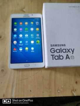 Samsung tab A 4g Fullset ori segel