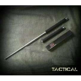 Baton Stick impor 511 (Pentungan Besi) 3 Ruas Bahan Baja Stainless