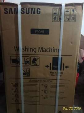 New washing machine  with box  manufactured by july