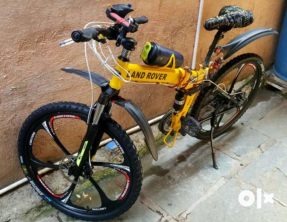 LandRoverFoldable bicycle in awesome condition