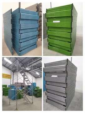 Scaffolding kapolding steger andang galam bambu rental sewa 361