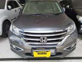 HONDA NEW CRV 2.4 AT AUTOMATIC  BENSIN 2400 CC TAHUN 2013 ABU ABU F NO