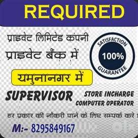 Driver supervisor guard receptionist diploma holder etc