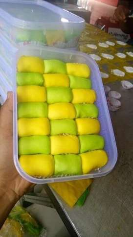 Pancake Durian isi 21 pcs Durian Asli