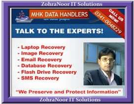 Data Recovery and Graphic Designing Services