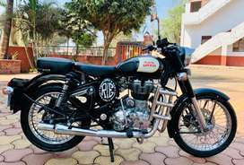 VIP 2000 No Black CLASSIC ROYAL ENFIELD BULLET 350cc, 2018 End