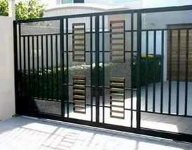 pintu pagar minimalis terbaru