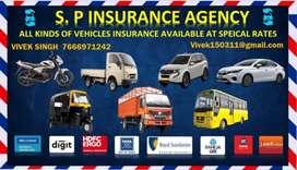 All types of motor insurance
