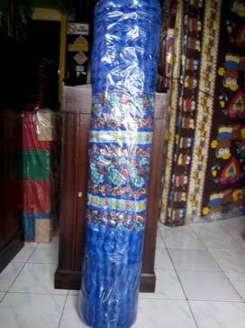 Kasur Tikar Karpet Lantai Palembang Gulung Lipat Busa Dakron Dacron
