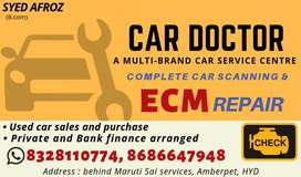All types of Cars Diagnosis & Electricals, Car Ecm Repair in Hyderabad