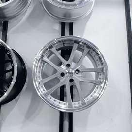 velg mobil Yaris racing ring 17 bisa kredit di toko