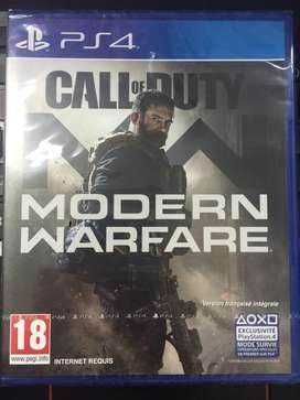 BD PS4 call of duty Modern warfare reg 2 new
