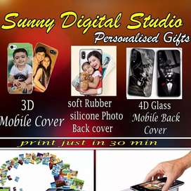 Mobile back cover photo printing