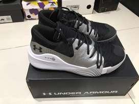 Sepatu basket nike adidas Under Armour Anatomix Spawn Low sz 11/45 Ori