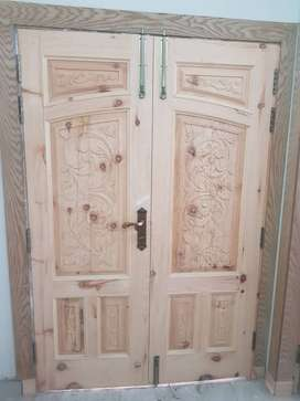 Wooden Main Door