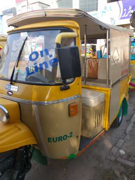 6 seater tezraftar rickshaw 2020 model