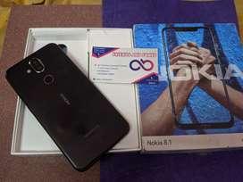 Nokia 8.1 full kit available