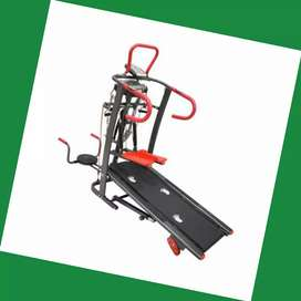 jual treadmill manual 6fungsi T-226 alat fitnes salatiga