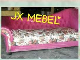 JX MEBEL Kursi Sofa Bed Santai depan TV