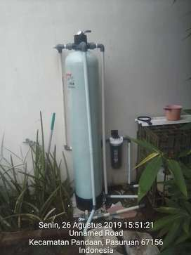 filter air PDAM dan air tanah
