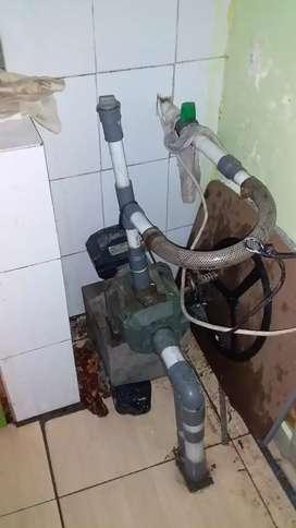 Servis pompa air murah sumur bor/suntik sumur