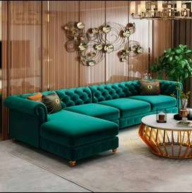 O% emi from Bajaj finance brand new sofas all color options available