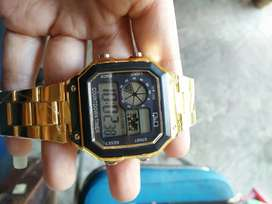 Jam tangan qnq gold