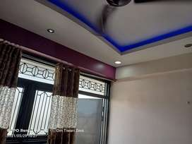 3BHK flat with Modular furnishing in a well connected Society