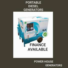 Greaves manufactures Industrial portable generator set 5KVA