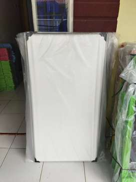 Papan Tulis Dinding Ukuran 120 x 60 cm dua Sisi bisa kapur dan spidol