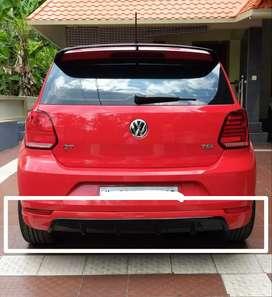 Polo rear/  back bumper diffuser skirting