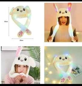 bunny hat lampu led